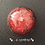 Orgonite meia esfera Jaspe vermelho