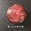 Orgonite Esfera Jaspe vermelho