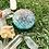 Orgonite Medalhão ou amuleto Sri Yantra Esmeralda
