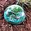Orgonite meia esfera Quartzo verde