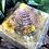 Orgonite Pirâmide Média Queóps Citrino com Pirita