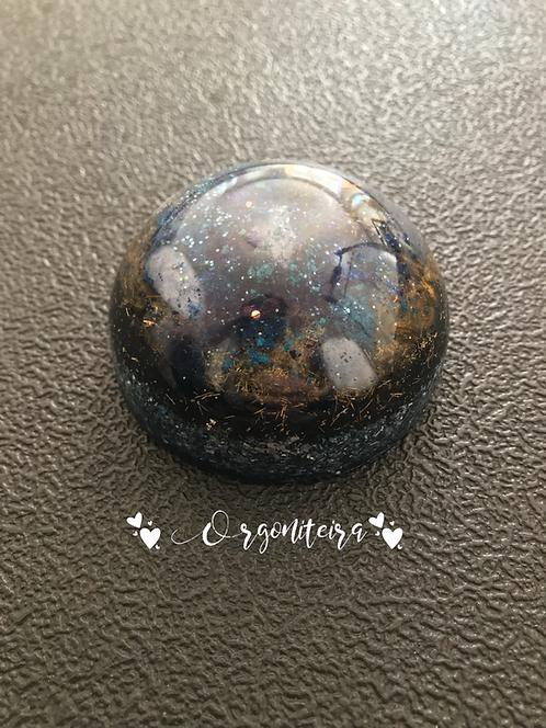Orgonite meia esfera Sodalita