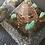 Orgonite Pirâmide Queóps Amazonita