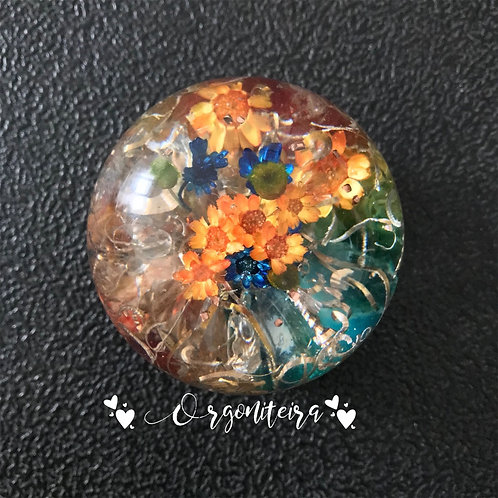 Orgonite Esfera Colours Citrino