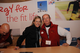Mark and Kristin Armstrong, three time Olympic Gold Medalist