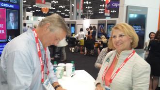 John Grisham with Marie