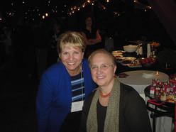 Lydia Bastinacci with Marie at CIA