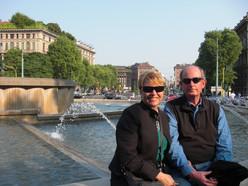 Marie & Mark in Milan