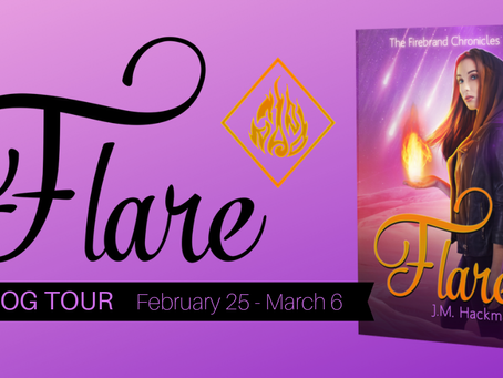 Guest Post: The Darlings of Flare by J.M. Hackman