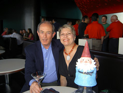 Mark & Marie in Vegas With Travelocity Gnome