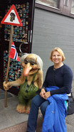 Making a friend in Denmark
