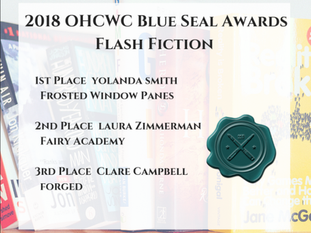 Blue Seal Awards–Ohio Christian Writers Conference