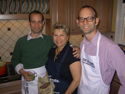 Marie with the Lee Brothers Matt and Ted