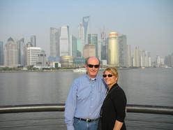 Marie & Mark in Shanghai