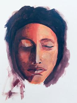 """""""Silence"""", 30 x 20 cm"""
