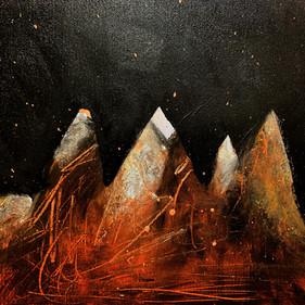 """""""October Night"""", 23,5 x 32,5 cm"""