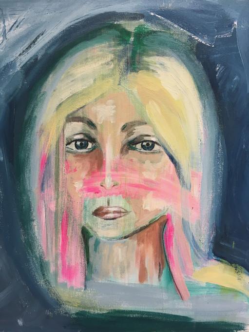 """""""Fear"""", 50 x 40 cm"""
