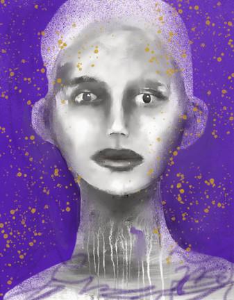 Purple Lady 2