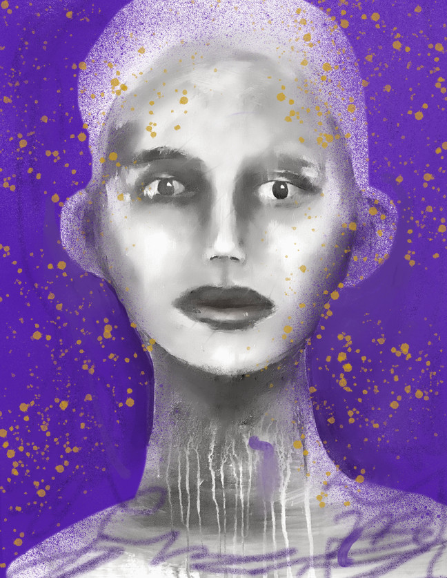Purple Lady 2