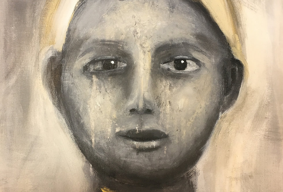 Past Life 1, 50 x 40 cm