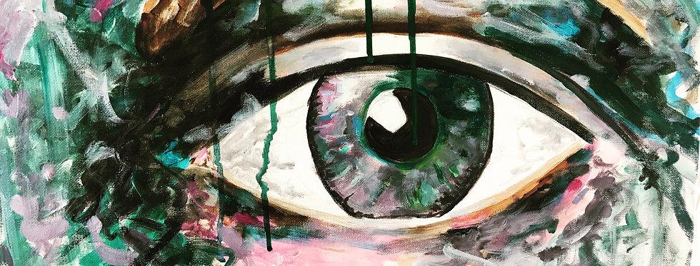 Eye, 60 x 50 cm SOLGT