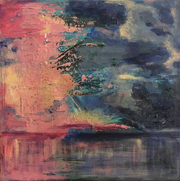 """""""Ocean"""", 30 x 30 cm"""