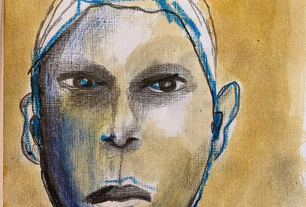 Outsider, innrammet 30 x 40 cm