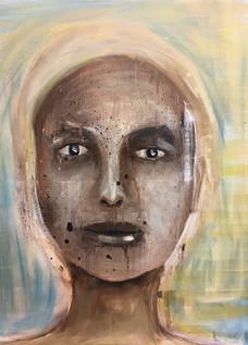"""Past life 3"", 60 x 50 cm"