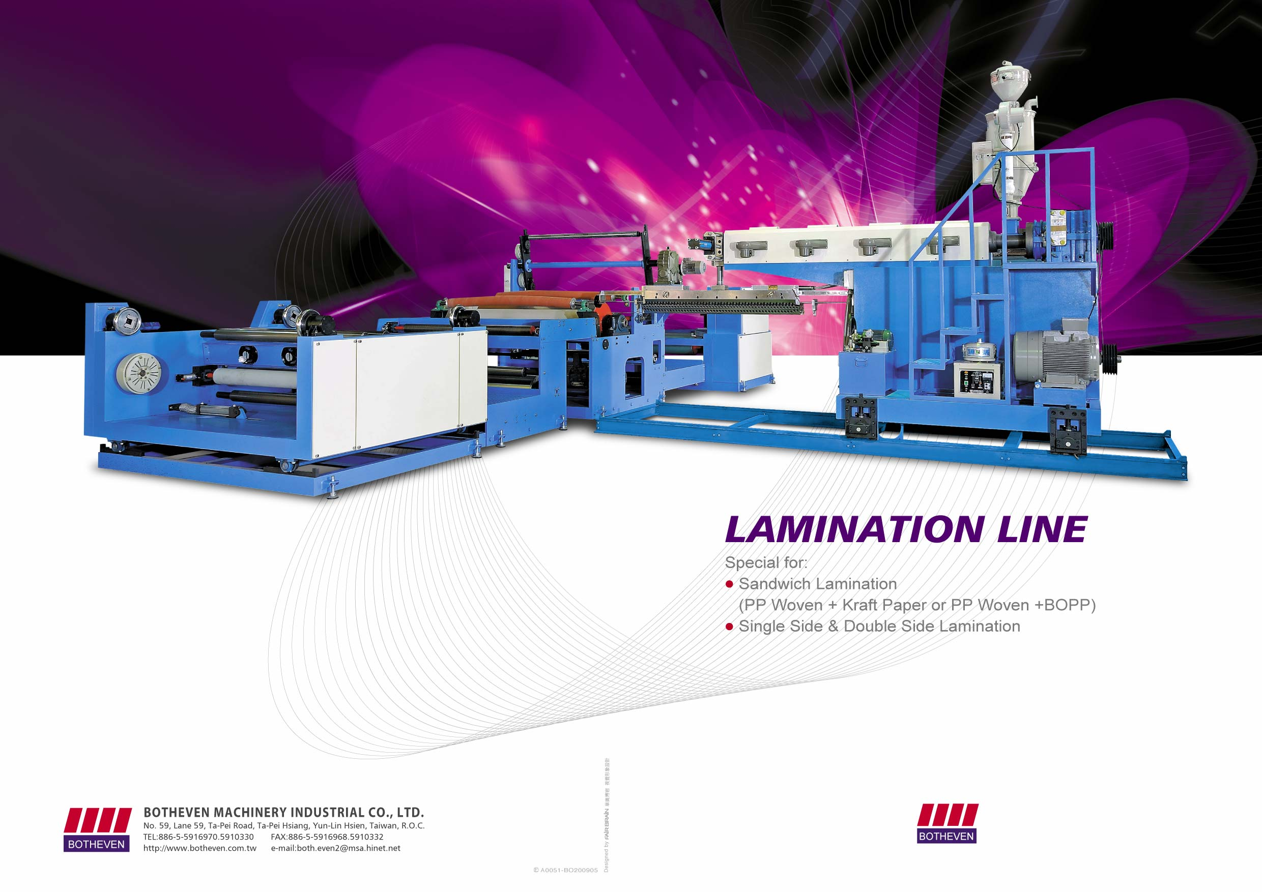 Lamination Line -cover page