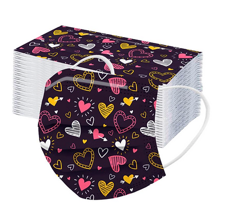 Munnbind - Valentines Design