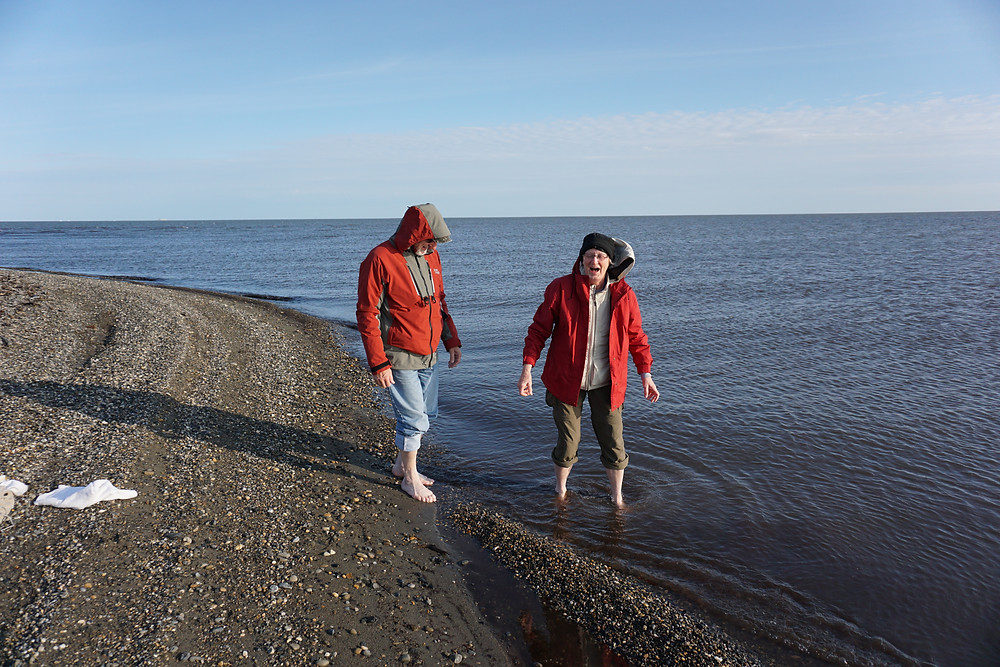 Stepping our toes in the Arctic Ocean