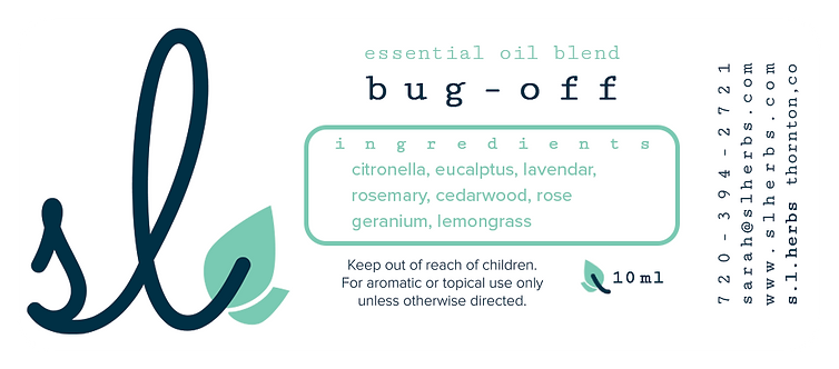 Bug Off Oil Blend