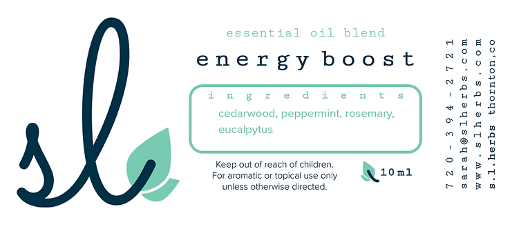 Energy Boost Oil Blend