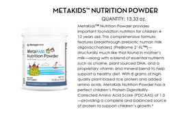 MetaKids Nutrition Powder