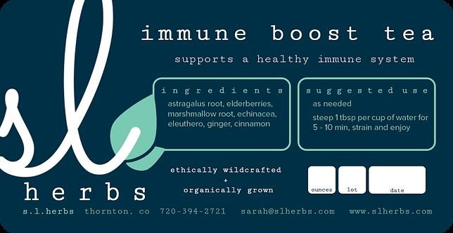 Immune Boost Tea