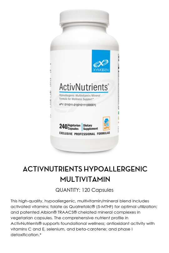 ActivNutrients Hypoallergenic Multivitam