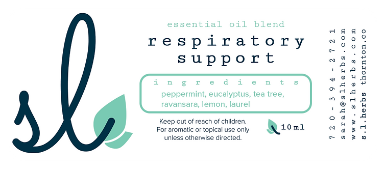 Respiratory Support Oil Blend