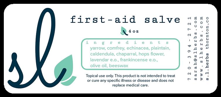 First Aid Salve