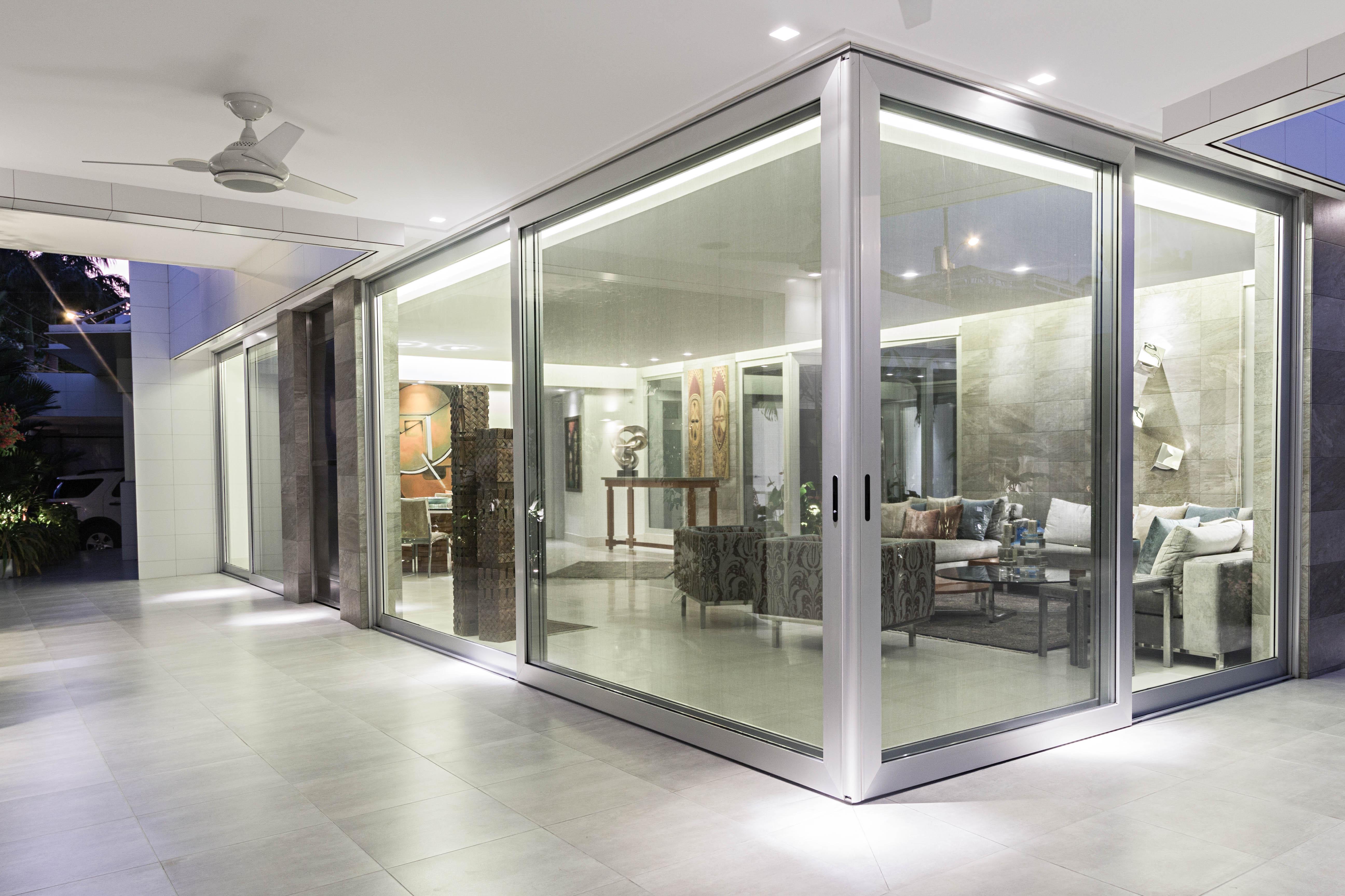 Ventana y puerta de aluminio y vidrio window world 55