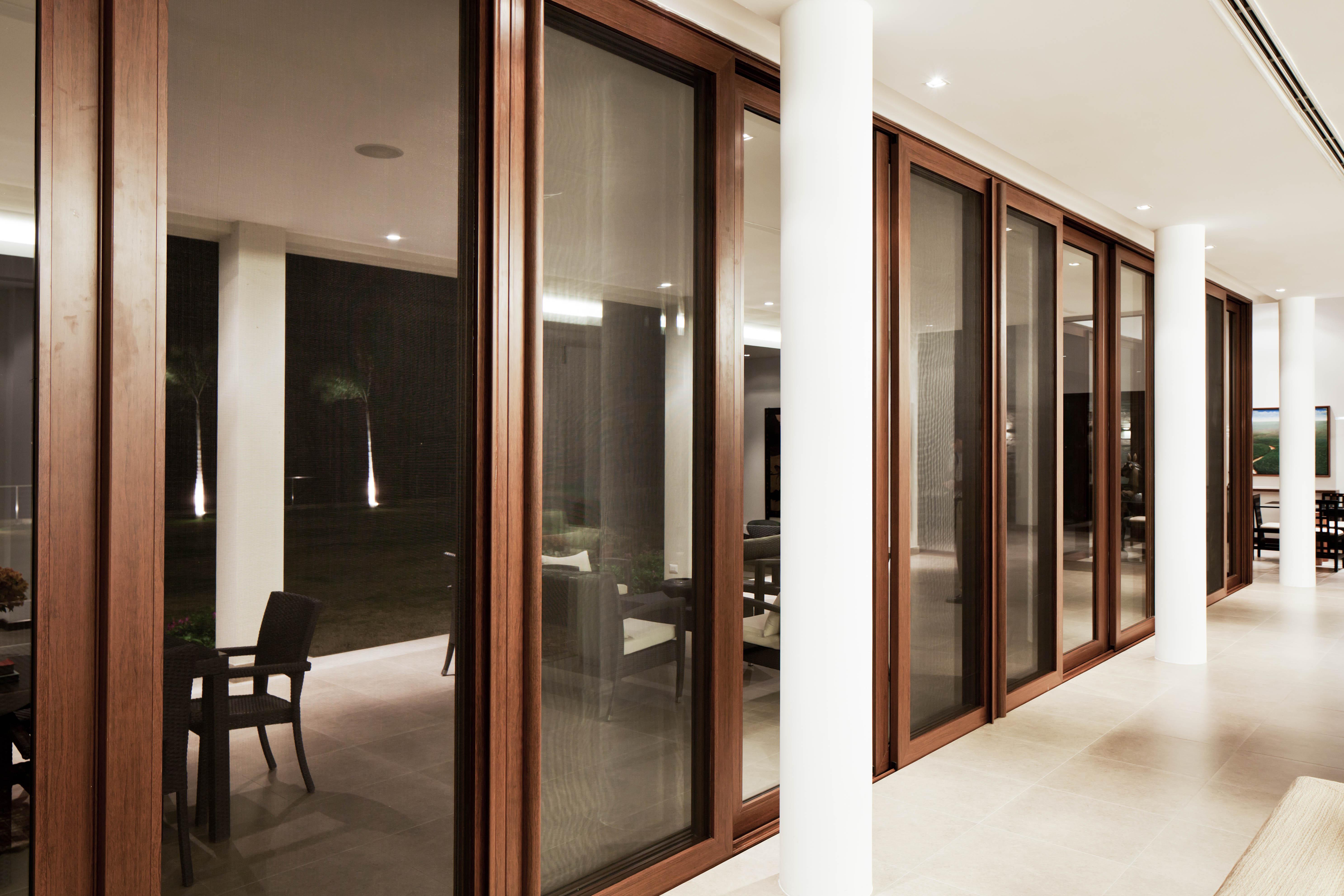 Ventana y puerta de aluminio y vidrio window world 52