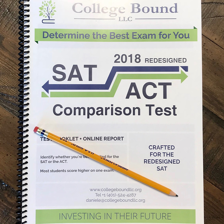 SAT vs. ACT Comparison Test (6.23.18)