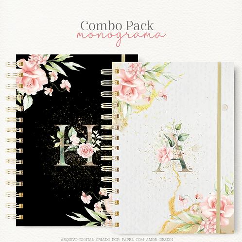 Combo Pack Capas Monograma