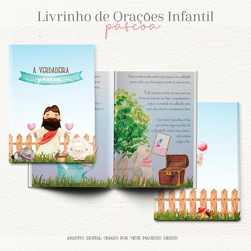 Livrinho de Orações Infantil Páscoa
