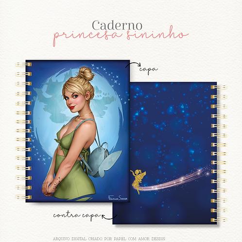 Caderno Princesa Sininho