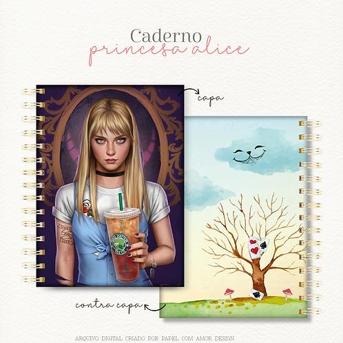 Caderno Princesa Alice