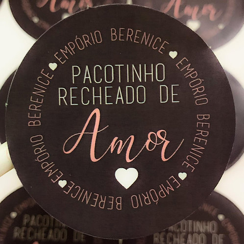 Adesivos Redondo 6,8cm Personalizado