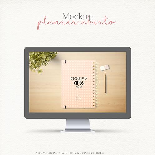 Mockup Planner Contra Capa