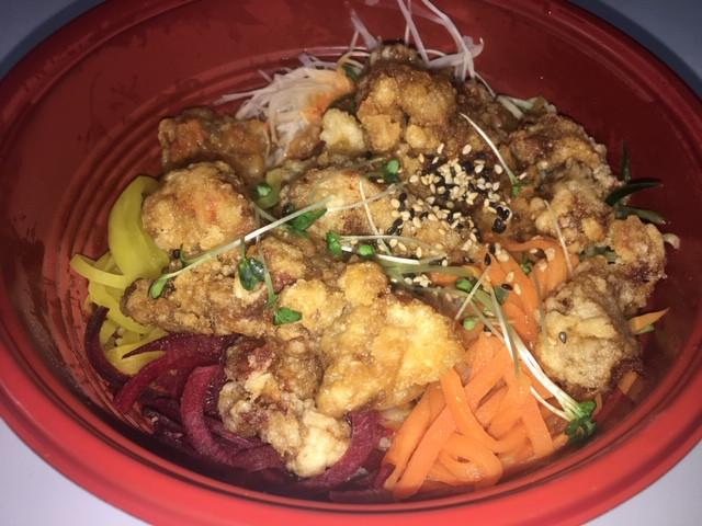Rice and Chicken Bibimbap