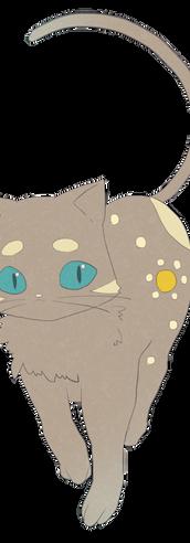 猫星ランデ 通常立ち絵(ねこ)