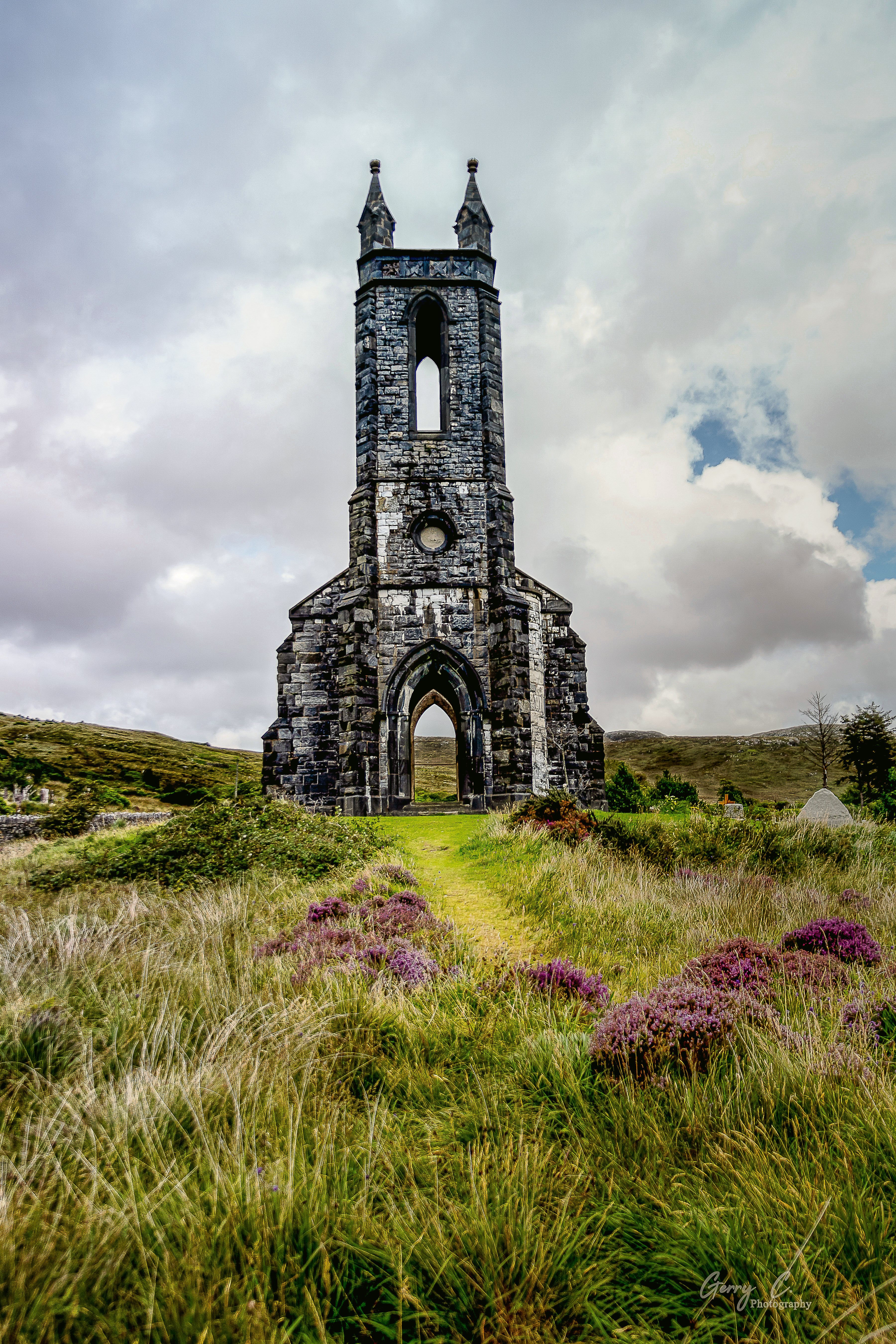 The Old Church at Dunlewey, Co. Donegal